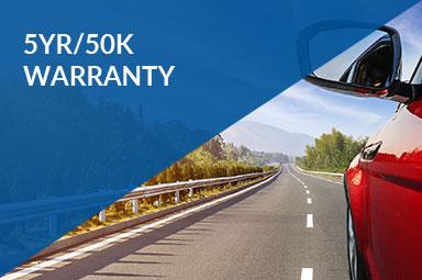 5yr/50k Warranty